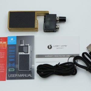 Lost Vape Orion Q Quest 17w kit付属品